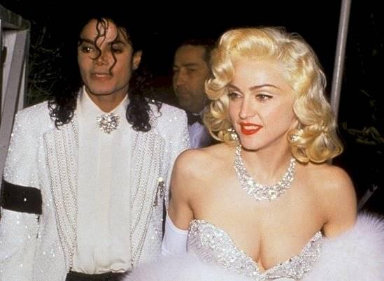 FOTO ORIGINAL: Michael Jackson y Madonna en 1991