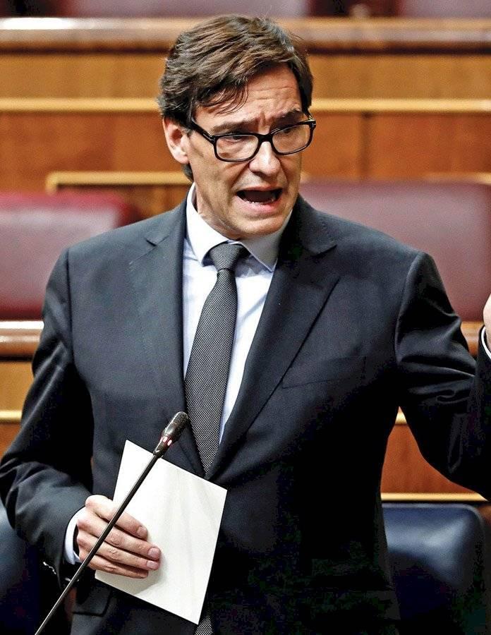 Salvador Illa, ministro de Sanidad de España