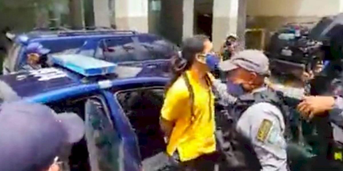 Liberan al fundador de Comedores Sociales tras arresto en manifestación