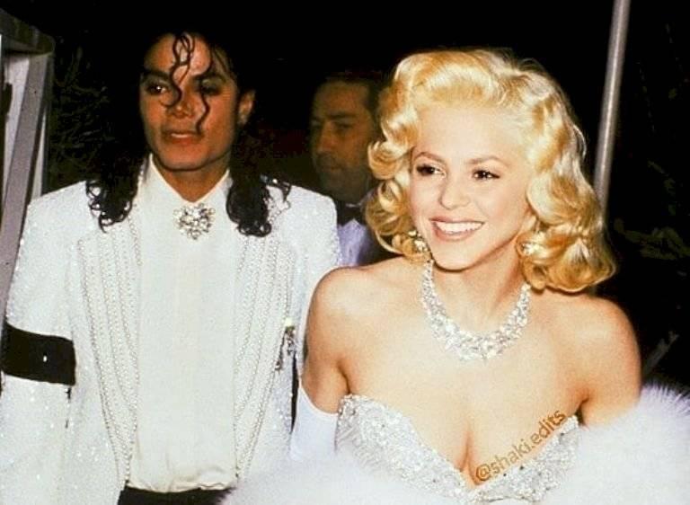 Michael Jackson y Shakira