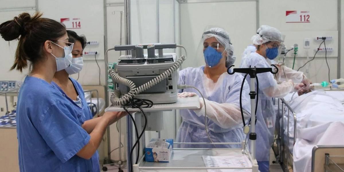 Brasil tem 824 mortes por coronavírus em 24 horas; óbitos chegam a 14.817
