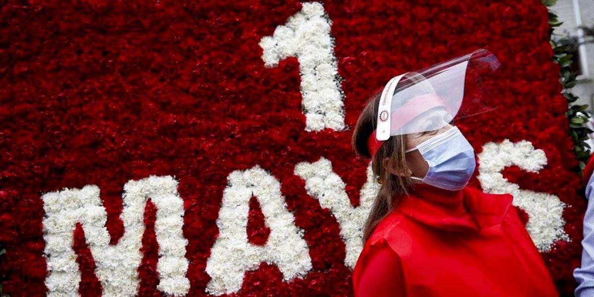 Coronavirus preocupa trabajadores que piden derechos el 1 de mayo