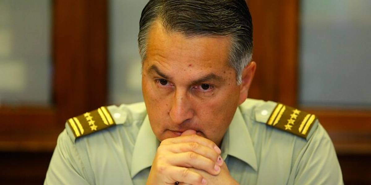 """General Rozas por ex carabineros detenidos: """"No representan ni siquiera una ínfima fracción de lo que somos"""""""