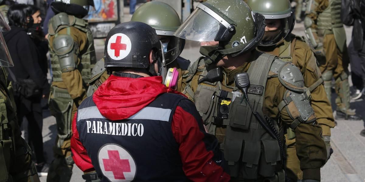 Manifestaciones en Plaza Italia: Carabineros asegura que entre detenidos había un contagiado con coronavirus que no respetó el confinamiento