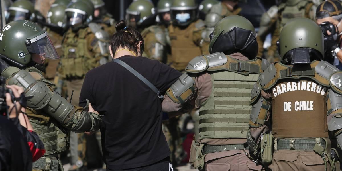 Detenido en Plaza Italia que debía estar en cuarentena se va a residencia sanitaria