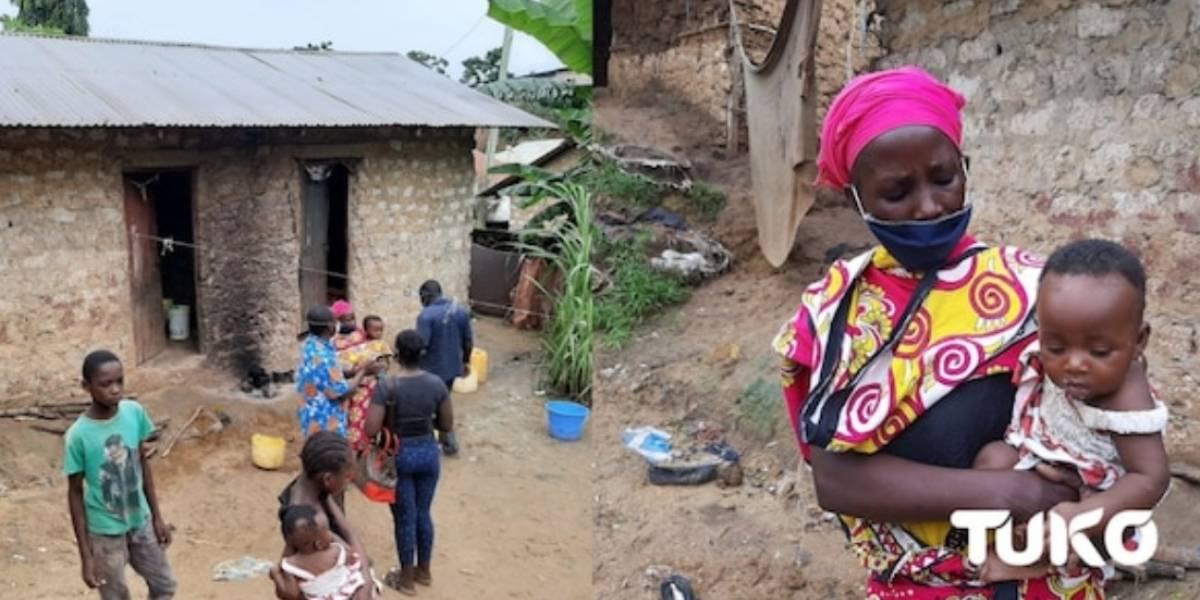 La desesperación de una madre: hirvió piedras para hacerle creer a sus hijos que tenía comida