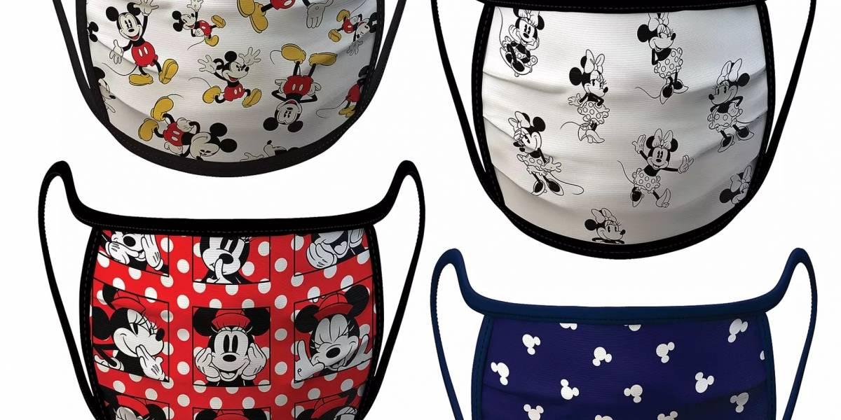 Esta si que la aprovecho: Disney pone a la venta línea de mascarillas para la pandemia con sus personajes más famosos