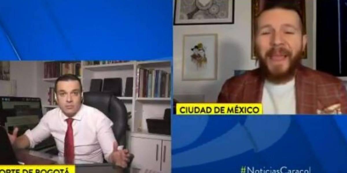 (Video) Llueven críticas a Noticias Caracol por entrevistar a reconocido motivador en cuarentena