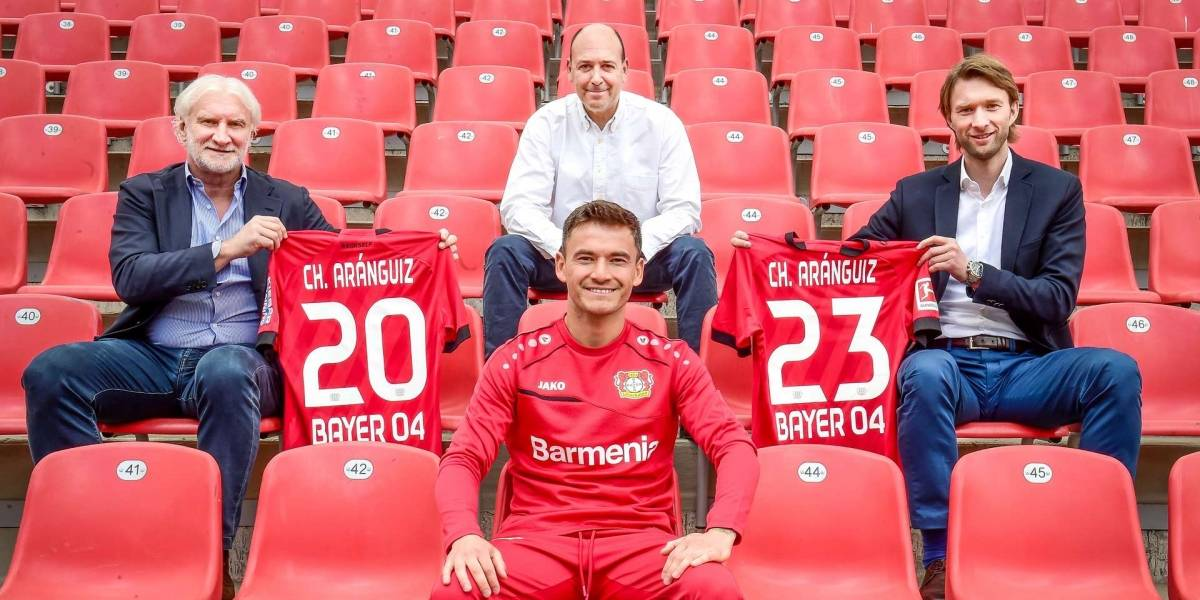 Charles Aránguiz se queda en Leverkusen por tres años más