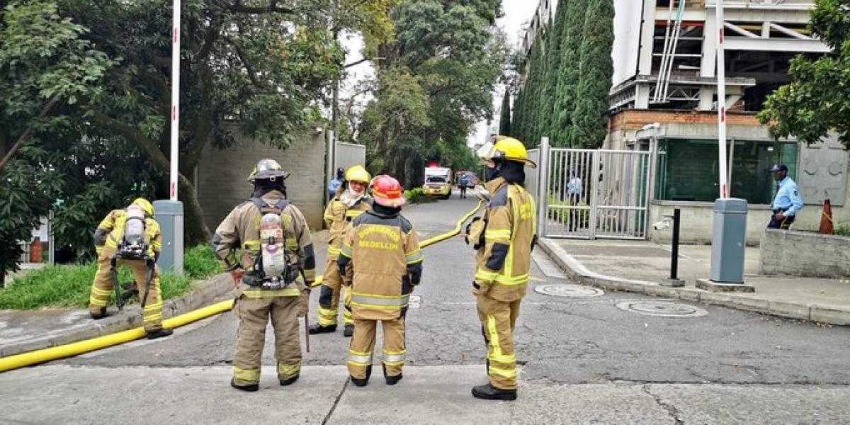 Esta fue la causa que generó la emergencia en el búnker de la Fiscalía de Medellín