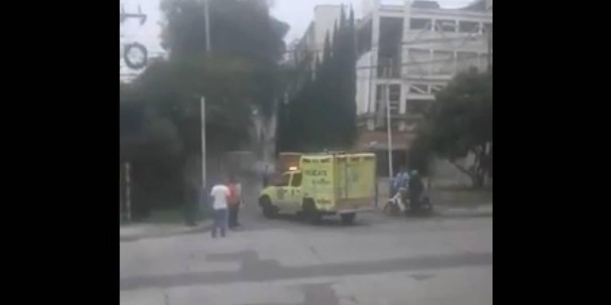 Reportan fuerte explosión en el búnker de la Fiscalía de Medellín