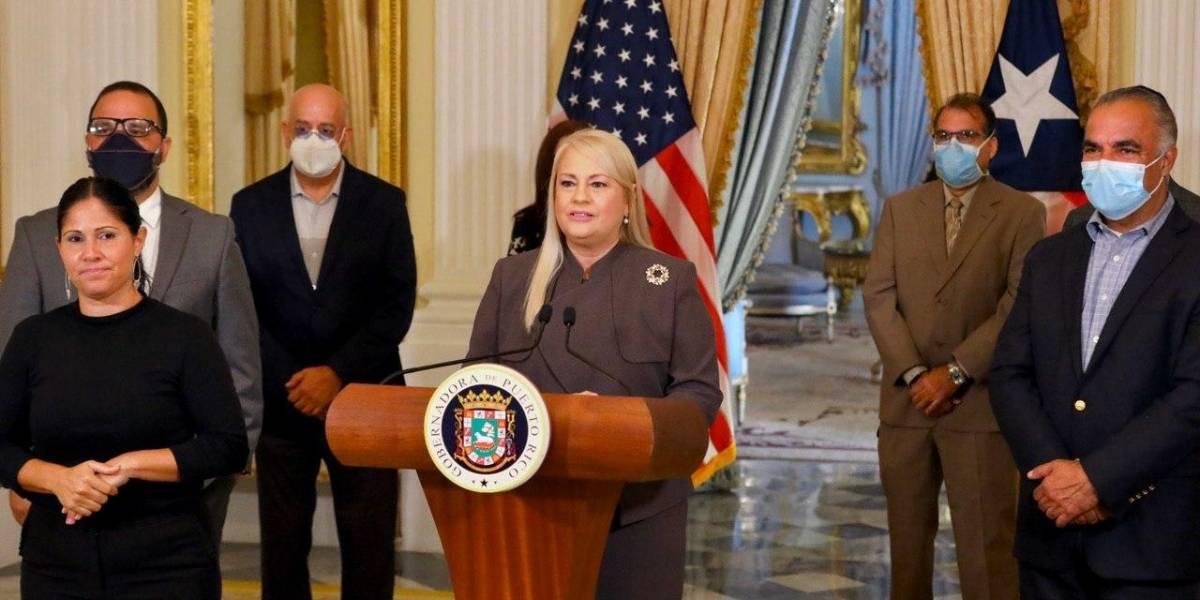"""Gobierno explica """"blooper"""" al final del mensaje de Wanda Vázquez"""