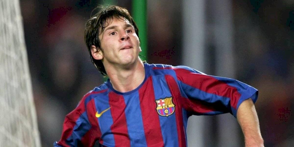 El día en que Messi comenzó a forjar su historia con el Barcelona