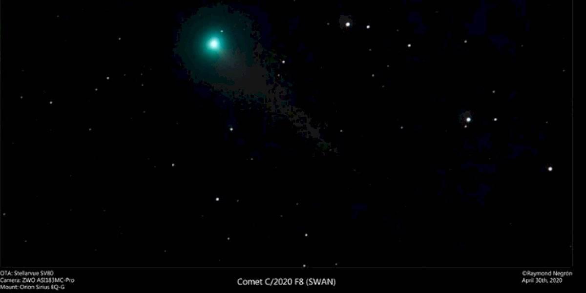 Cometa recién descubierto es visible desde Puerto Rico