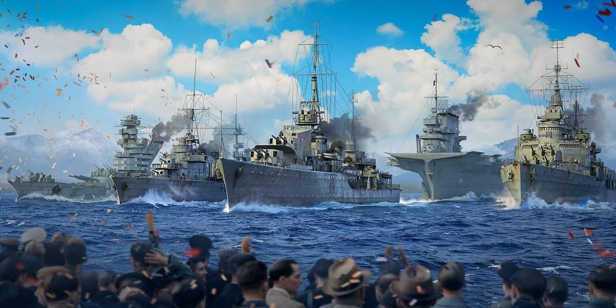 World of Warships prepara desfile virtual da marinha exclusivo para o Dia da Vitória