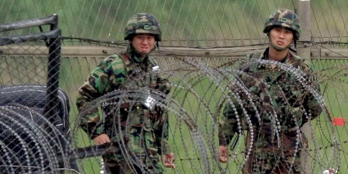 Tensión en Asia: reportan disparos en la frontera entre Corea del Norte y Corea del Sur