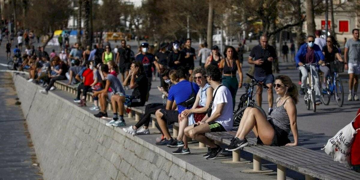 Pueden salir a hacer ejercicios en franjas horarias: españoles se levantan temprano y salen a hacer deporte tras siete semanas de cuarentena