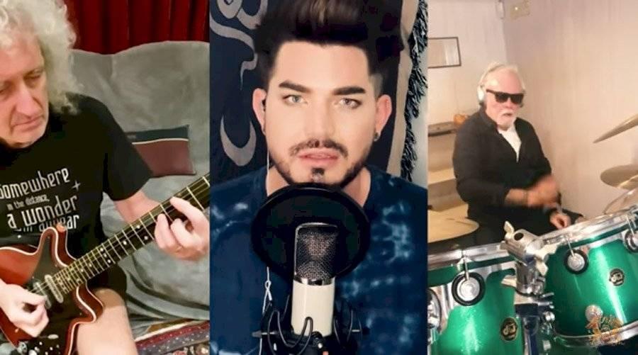 Brian Taylor, Adam Lambert y Roger Taylor