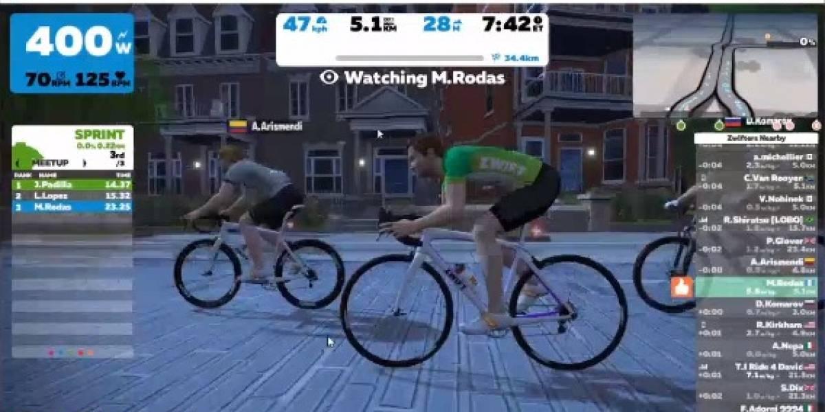 Federación de Ciclismo de Guatemala organizó un desafío virtual