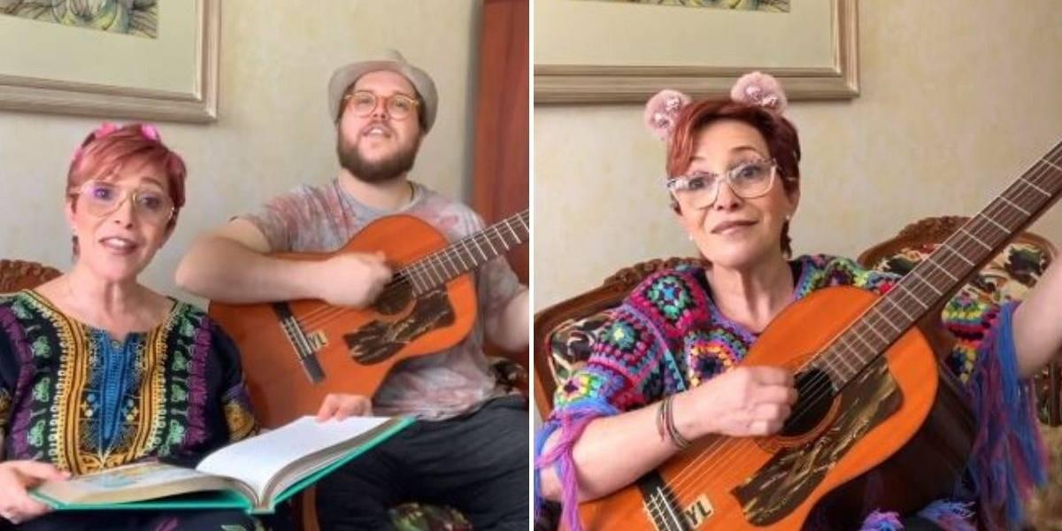 La creativa forma en que Yaneth Waldman entretiene a sus seguidores en cuarentena