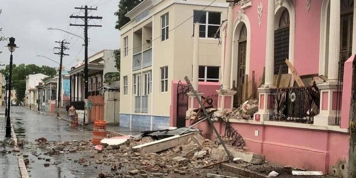 Documentan daños en estructuras tras temblor de esta mañana