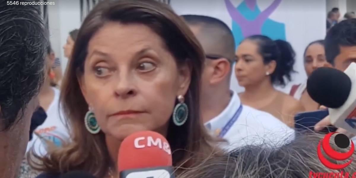"""El trino en el que Marta Lucía Ramírez dijo que """"no habría interceptaciones ilegales en su gobierno"""""""