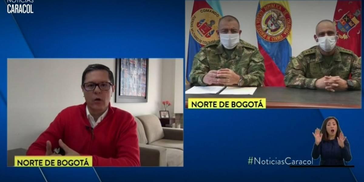Entrevista de Noticias Caracol con altos mandos del Ejército fue blanco de críticas