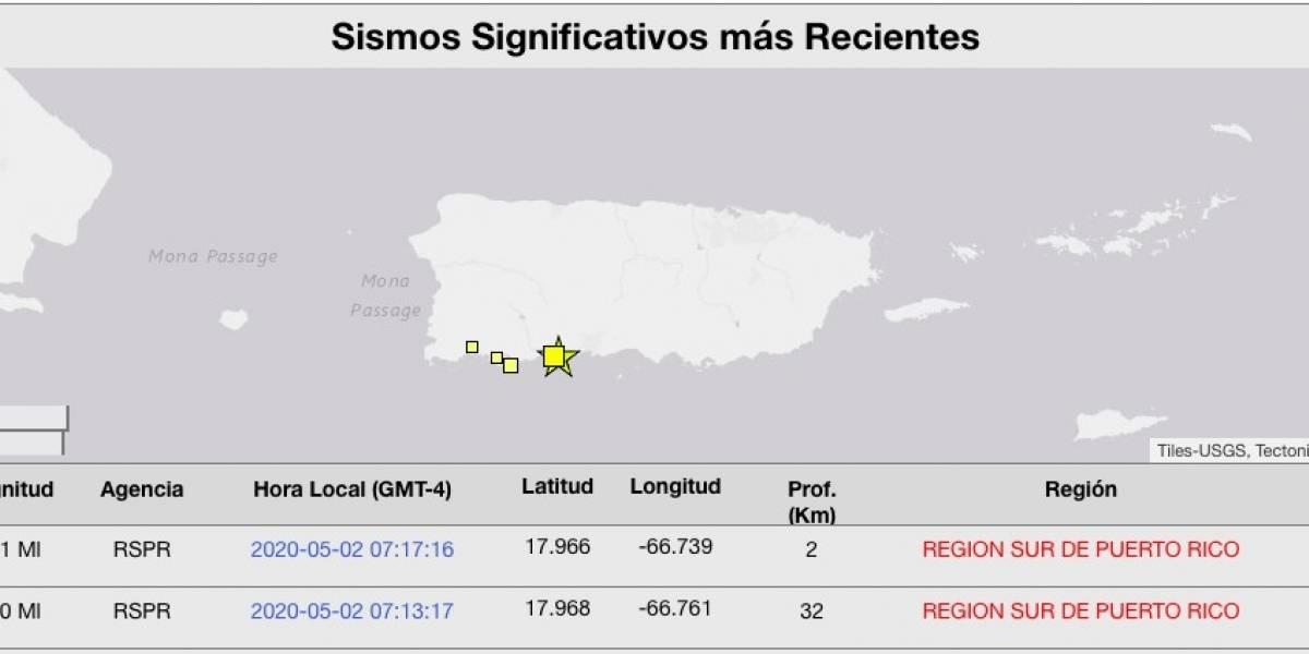 Se siente temblor en Puerto Rico