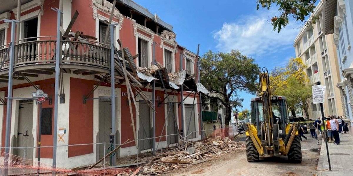 Comienzan los trabajos de recogido en Ponce tras terremoto