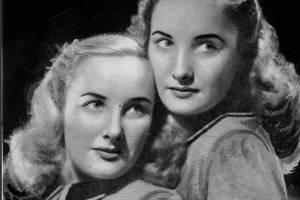 Mirtha Legrand y su hermana, Silvia Legrand