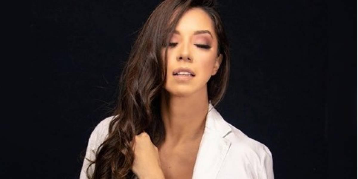 La modelo guatemalteca, Denise González presume su booty en diminuto bikini