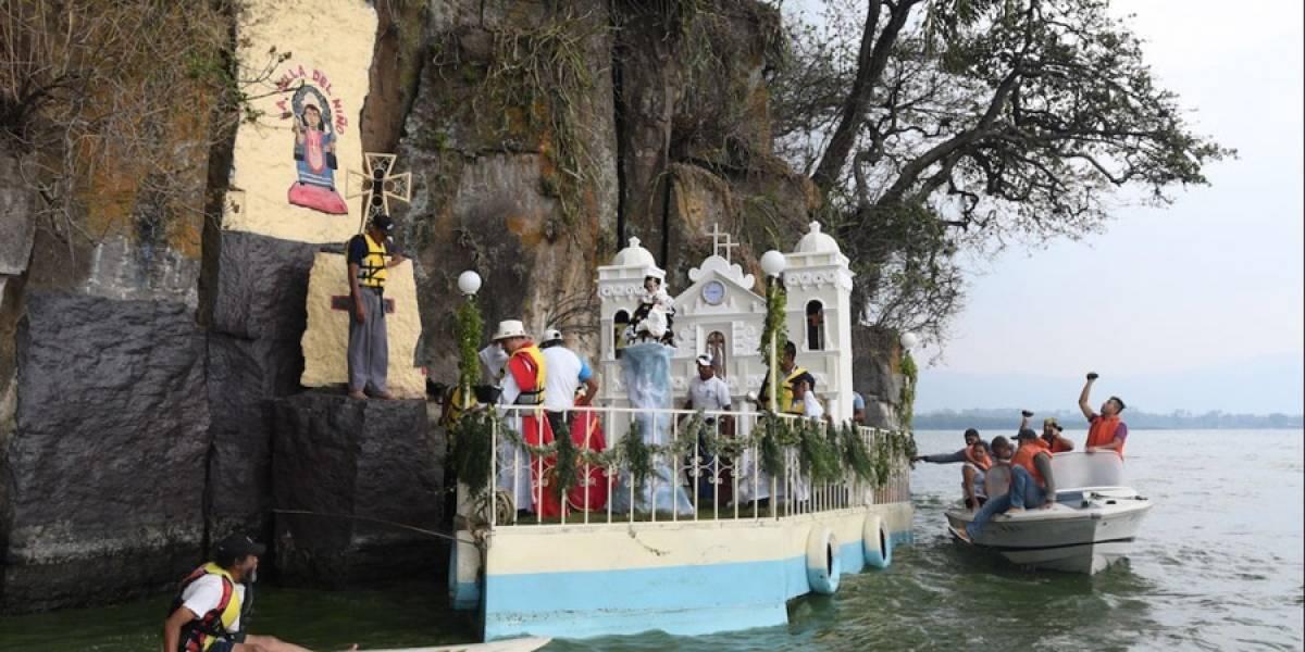 VIDEO. Amatitlán celebra feria patronal bajo confinamiento