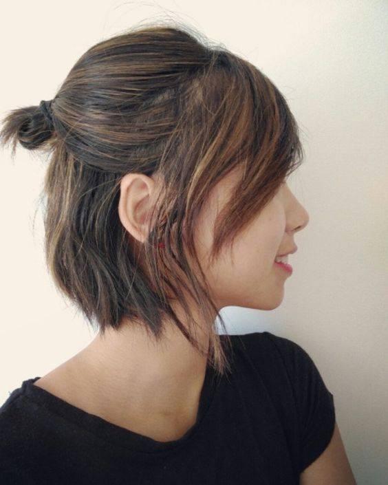 Peinados para cabello suelto con fleco