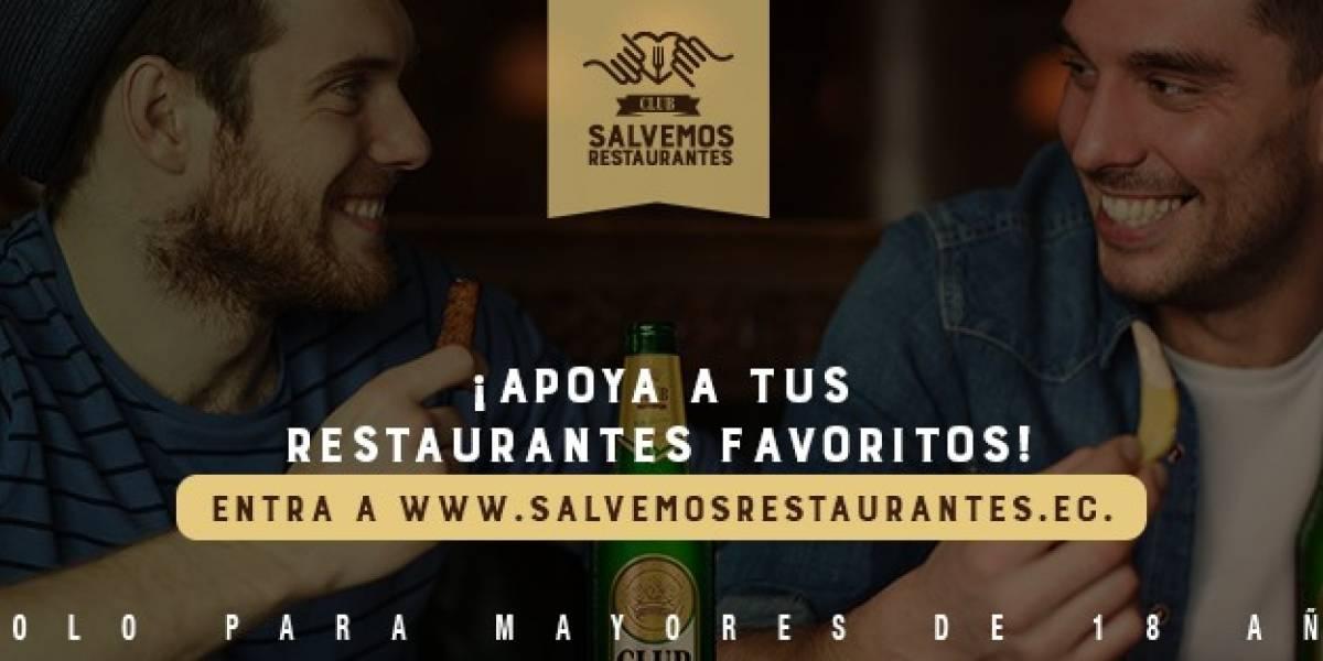 Cervecería Nacional lanza programa de ayuda a restaurantes con el apoyo de la comunidad