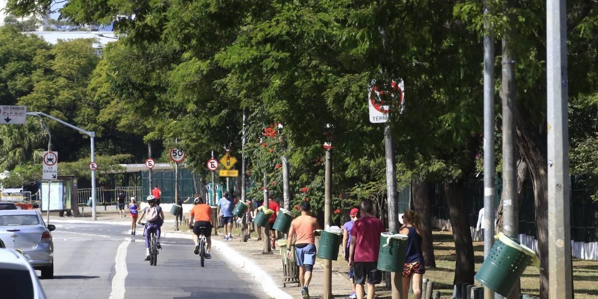 Isolamento social volta a 59% em São Paulo no domingo