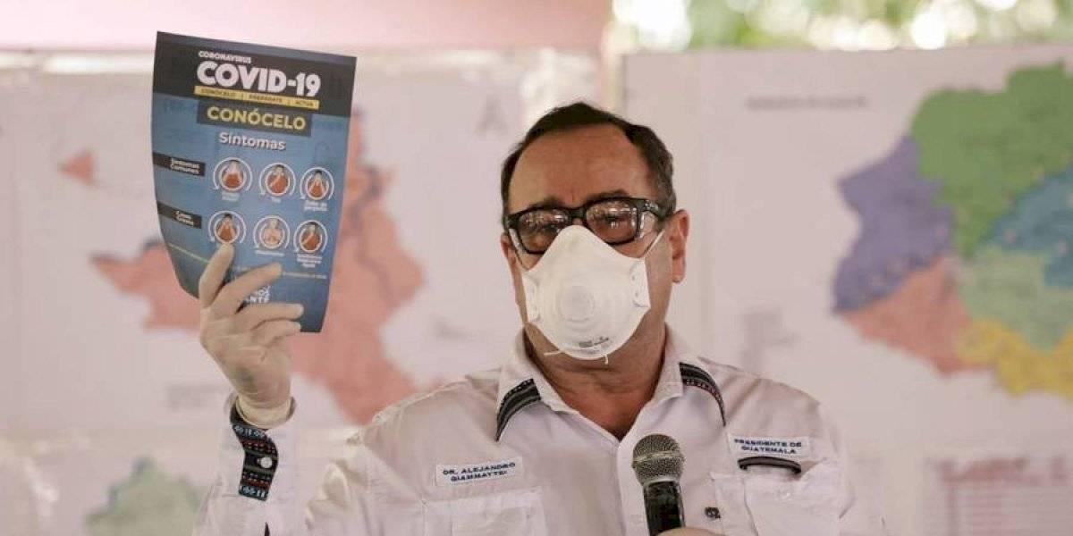 Cordón sanitario en Patzún sería levantado esta semana, según presidente Giammattei