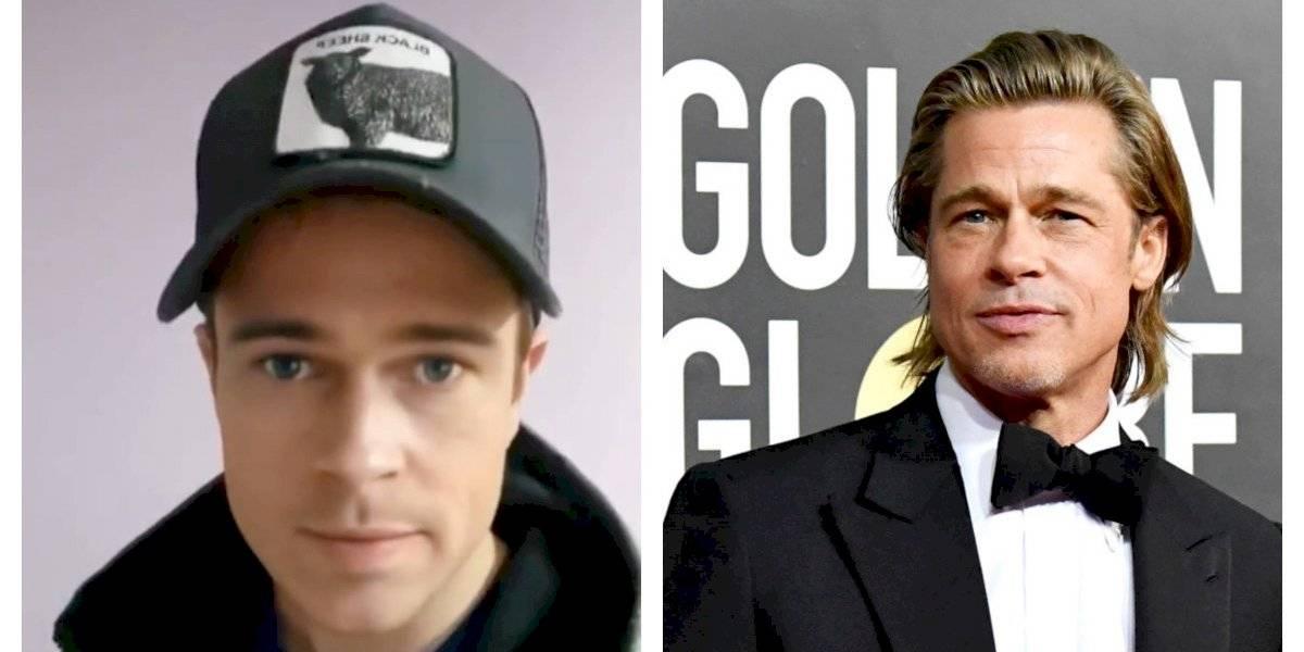 ¿Será real? Joven argentino es igual a Brad Pitt y la rompe en TikTok