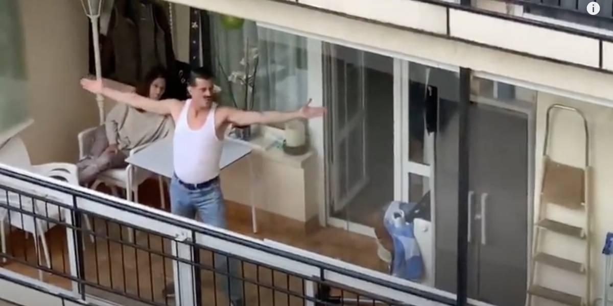 [VIDEO] Imitador de Freddie Mercury arrasa en redes sociales