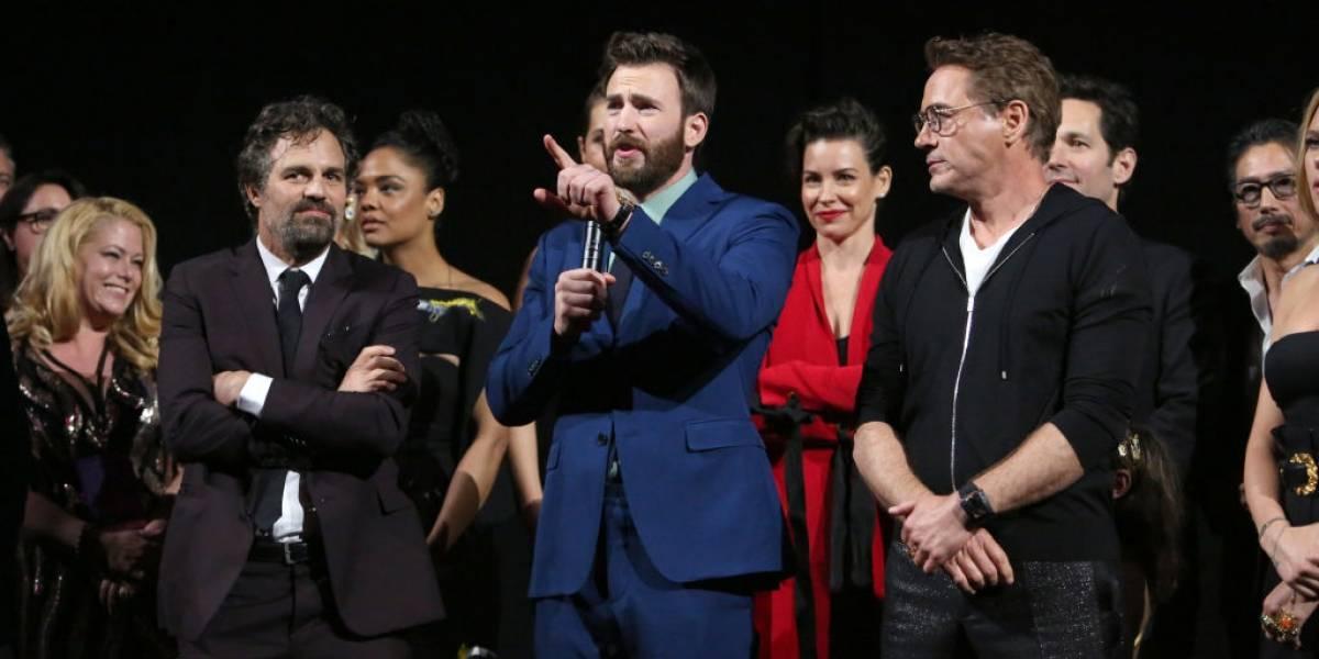 Chris Evans estrenó su nueva cuenta de Instagram acompañado de sus amigos de The Avengers
