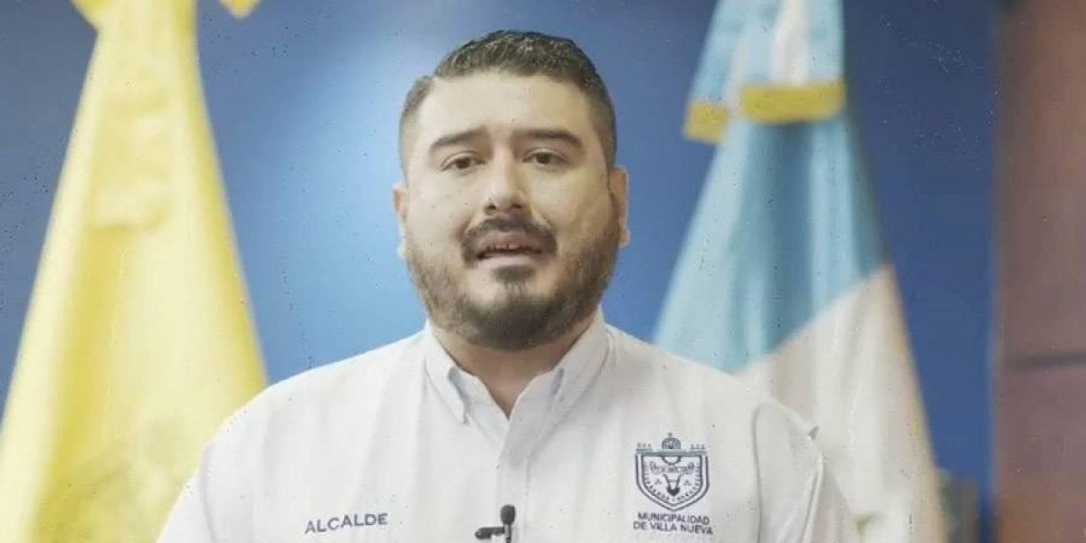 """VIDEO. Alcalde de Villa Nueva: """"He decidido donar mi sueldo mientras dure la pandemia"""""""