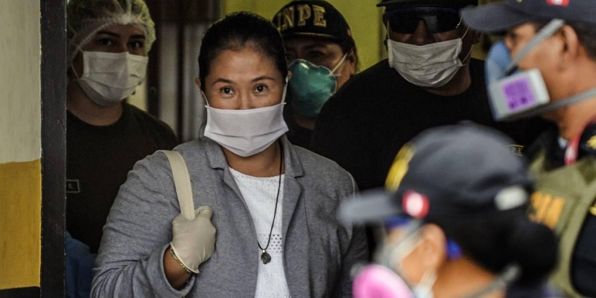 Keiko Fujimori, excarcelada tras pasar tres meses en prisión