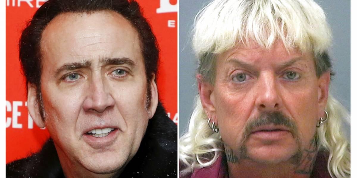 Nicolas Cage interpretará a Joe Exotic en miniserie
