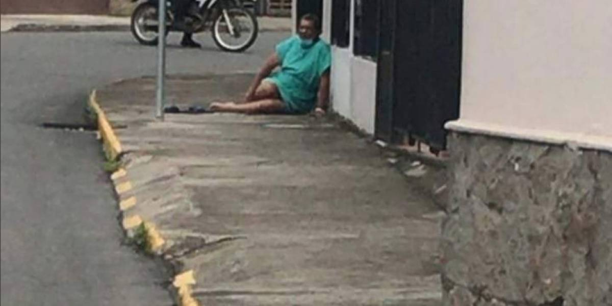 Paciente, con sospecha de COVID-19, escapó de un hospital en Cuenca
