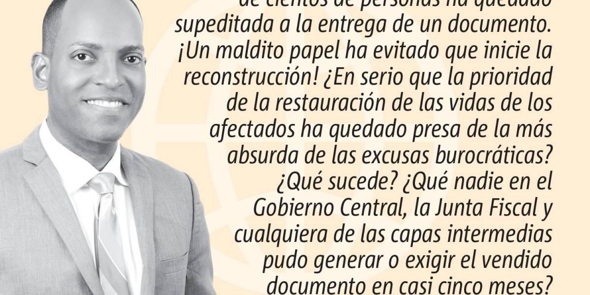 Opinión de Julio Rivera Saniel: Y dale con las excusas