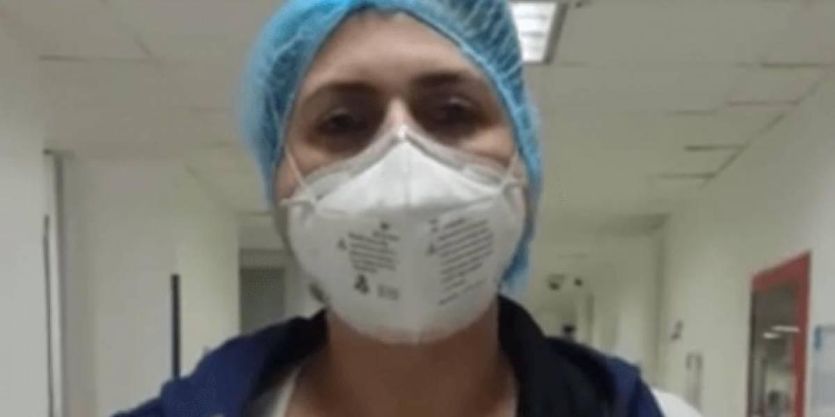 Enfermera denuncia que fue agredida mientras esperaba el bus