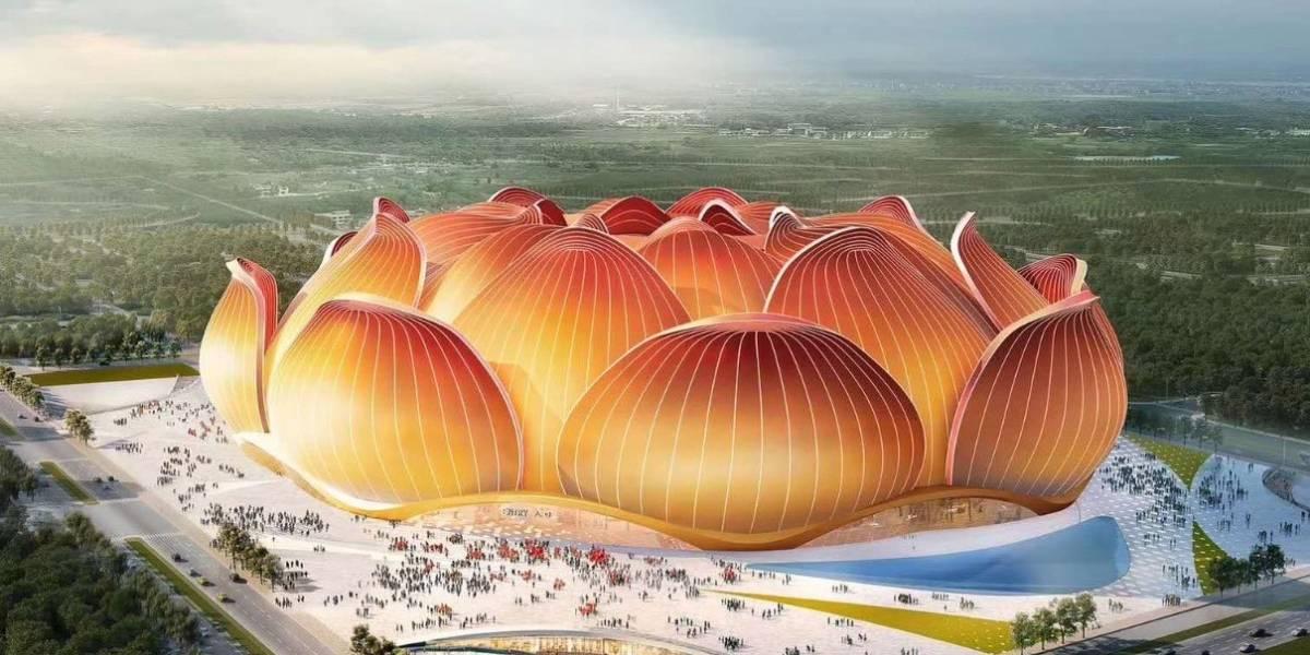 China va por el Mundial del 2030 con el estadio más grande del mundo y complica la opción sudamericana