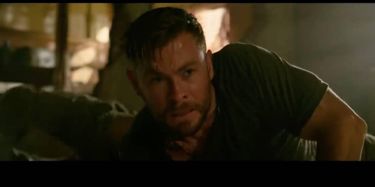Chris Hemsworth explica cómo se grabó una de las escenas de acción de Misión de Rescate