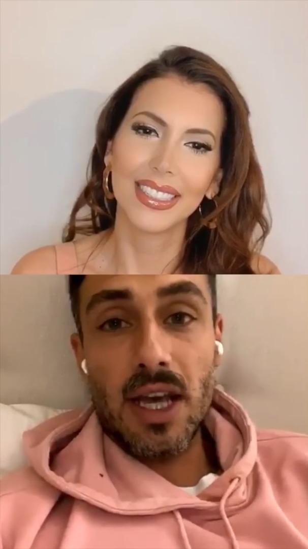 Nataly Chilet y Marcelo Marocchino