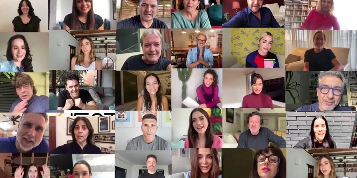 El cine iberoamericano se queda en casa y los actores promueven un mensaje