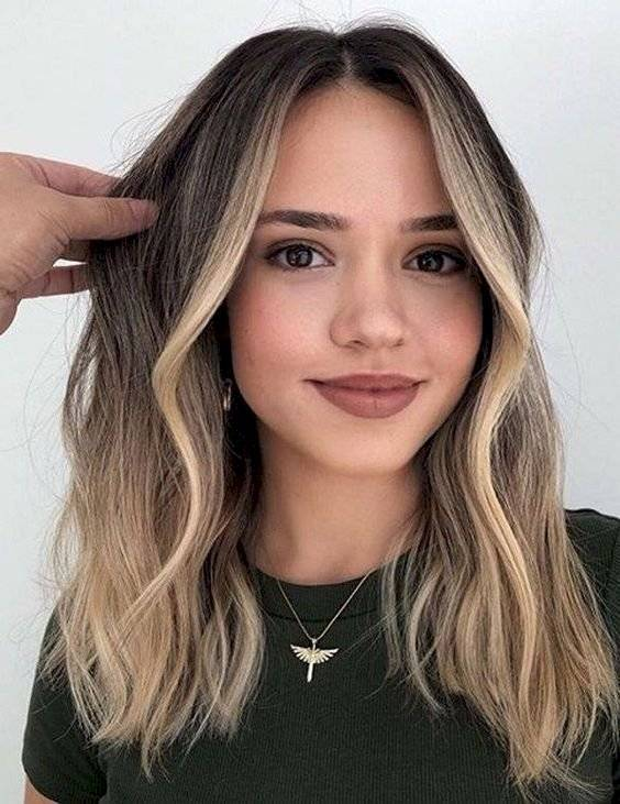 Efectos de color para cabello negro